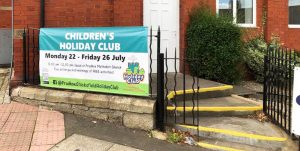 Holiday Club Re-Usable banner