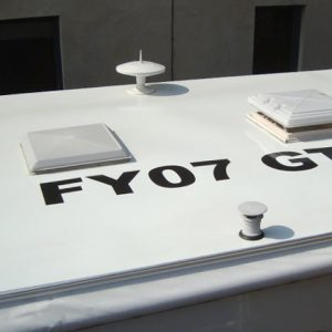 Caravan Roof Stickers