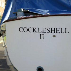 Cockleshell boat graphics