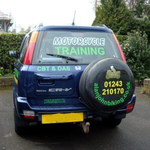 Vehicle Graphics window graphics
