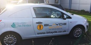 Blayde Security Car Graphics