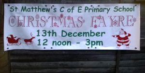 Christmas Fayre Banner