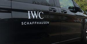 IWC van decal branding 3