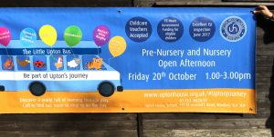 Re-Usable Banners for School Open Days