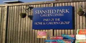 Stanstead Park Garden center sign