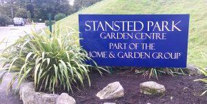 Stanstead Park Parking signage