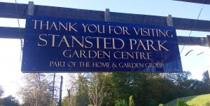 Stanstead Park Thank you board