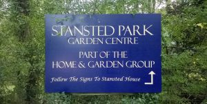 Stanstead Park directions sign