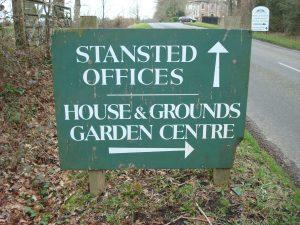 Small signage for private estates