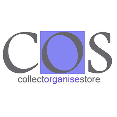 collect organise store logo