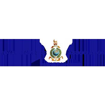 Royal Marines association bath branch logo