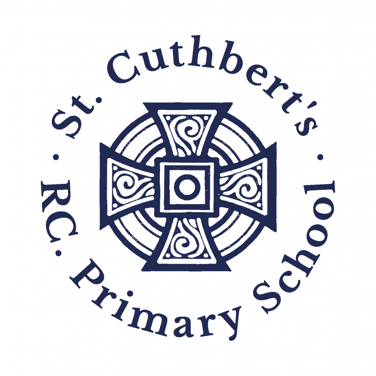st Cuthberts primary school logo