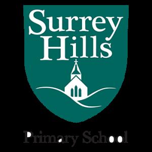 Surrey Hills primary school logo