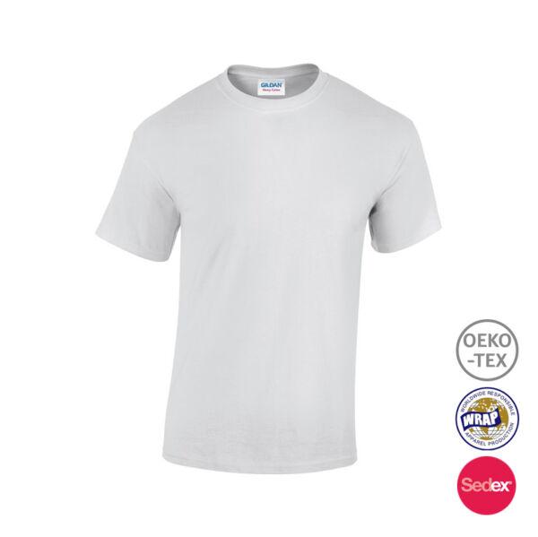 White standard Unisex Cotton T Shirt