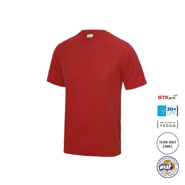 Technical T Shirt - Fire Red